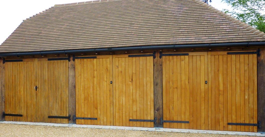 wooden garage doors black hand crafted wooden garage doors penchard