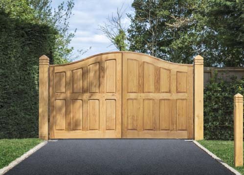 We Design And Install The Very Best Handcrafted Wooden Gates In UK